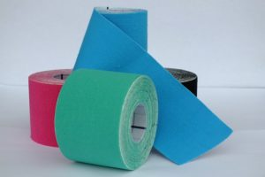 Kinesiology Tape use after a traumatic injury